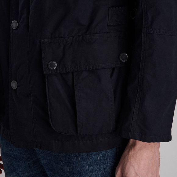 Barbour International Mens Blue Lockseam Casual Jacket main image