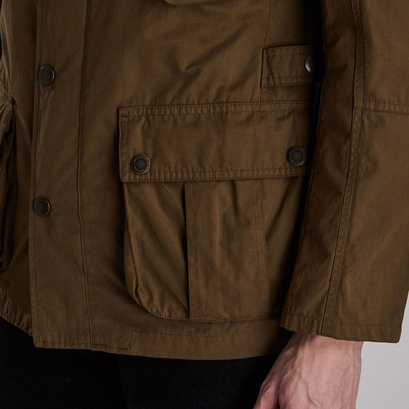 Barbour International Mens Beige Lockseam Casual Jacket main image