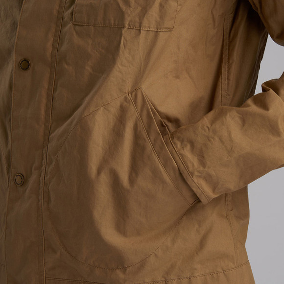 Barbour Int. Steve McQueen Mens Beige Major Casual Jacket main image