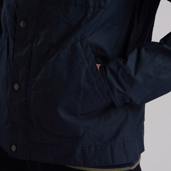 Barbour Int. Steve McQueen Mens Blue Major Casual Jacket main image