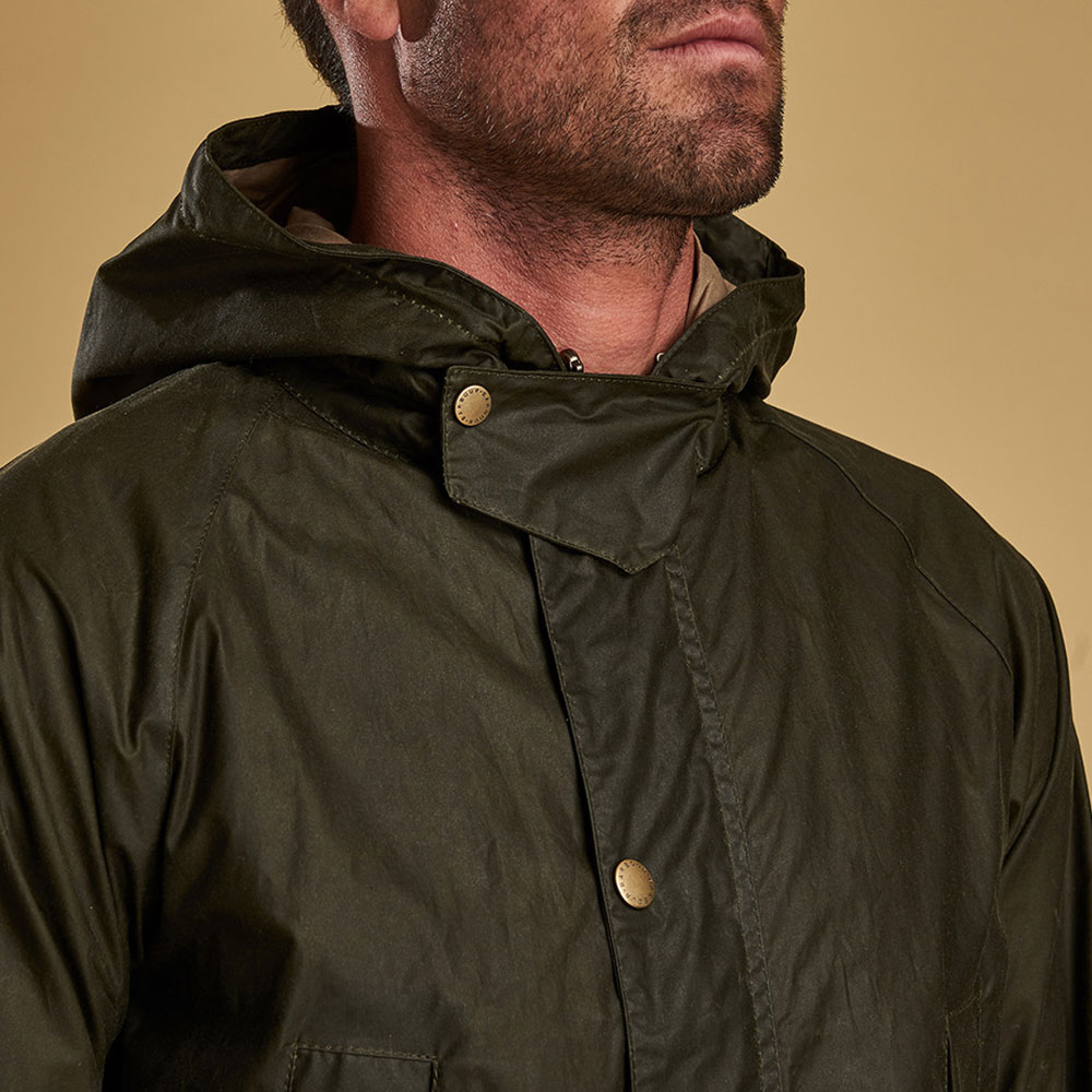 Lightweight Hooded Bedale Jacket main image