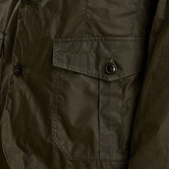 Barbour Lifestyle Mens Green Lightweight Sander Jacket main image