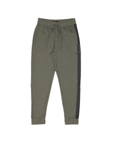 BOSS Bodywear Mens Green Contemporary Jogger