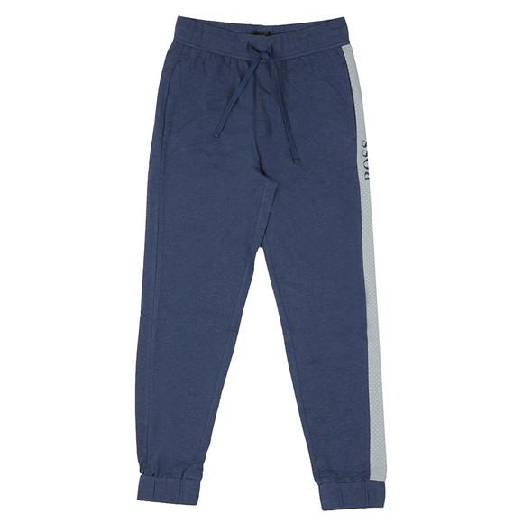 BOSS Bodywear Mens Blue Contemporary Jogger main image