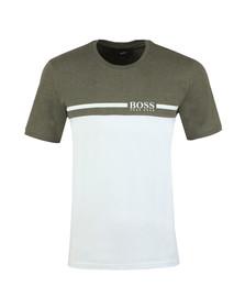 BOSS Bodywear Mens Green Trend T Shirt