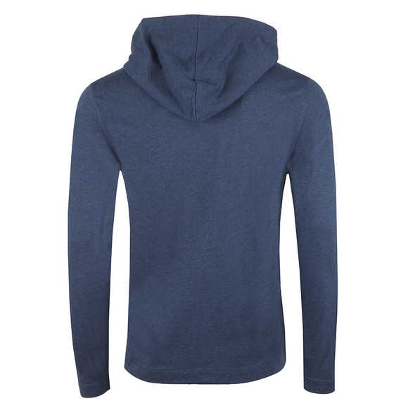 BOSS Bodywear Mens Blue Contemporary Hoody main image