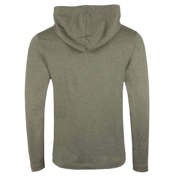 BOSS Bodywear Mens Green Contemporary Hoody main image