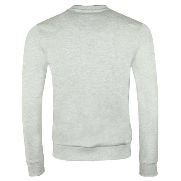 BOSS Mens Grey Athleisure Salbo Crew Sweatshirt main image