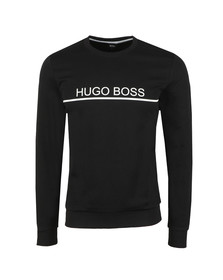 BOSS Bodywear Mens Black Tracksuit Sweatshirt