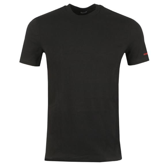 Dsquared2 Mens Black Sleeve Logo T Shirt