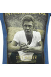 Barbour Int. Steve McQueen Mens Blue Relax Tee