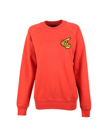 Vivienne Westwood Anglomania Womens Red Athletic Sweatshirt