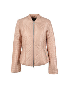 Barbour International Womens Pink Sprinter Quilt Jacket