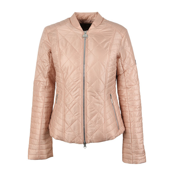 Barbour International Womens Pink Sprinter Quilt Jacket main image