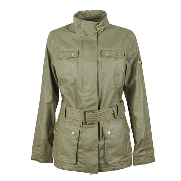 Barbour International Womens Green Bearings Casual Jacket