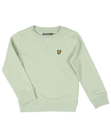 Lyle And Scott Junior Boys Green Classic Crew Sweatshirt