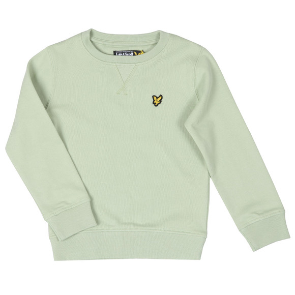 Lyle And Scott Junior Boys Green Classic Crew Sweatshirt main image