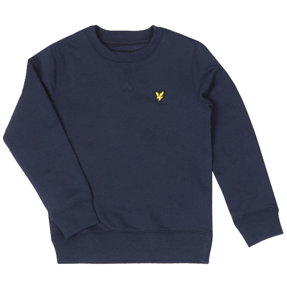 Lyle And Scott Junior Boys Blue Classic Crew Sweatshirt main image