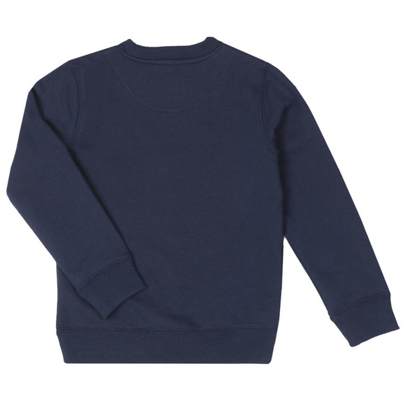 Lyle And Scott Junior Boys Blue Classic Crew Sweatshirt