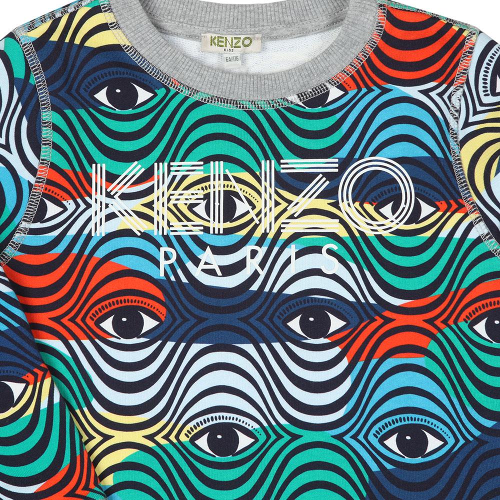 Logo Multi Pattern Sweatshirt main image