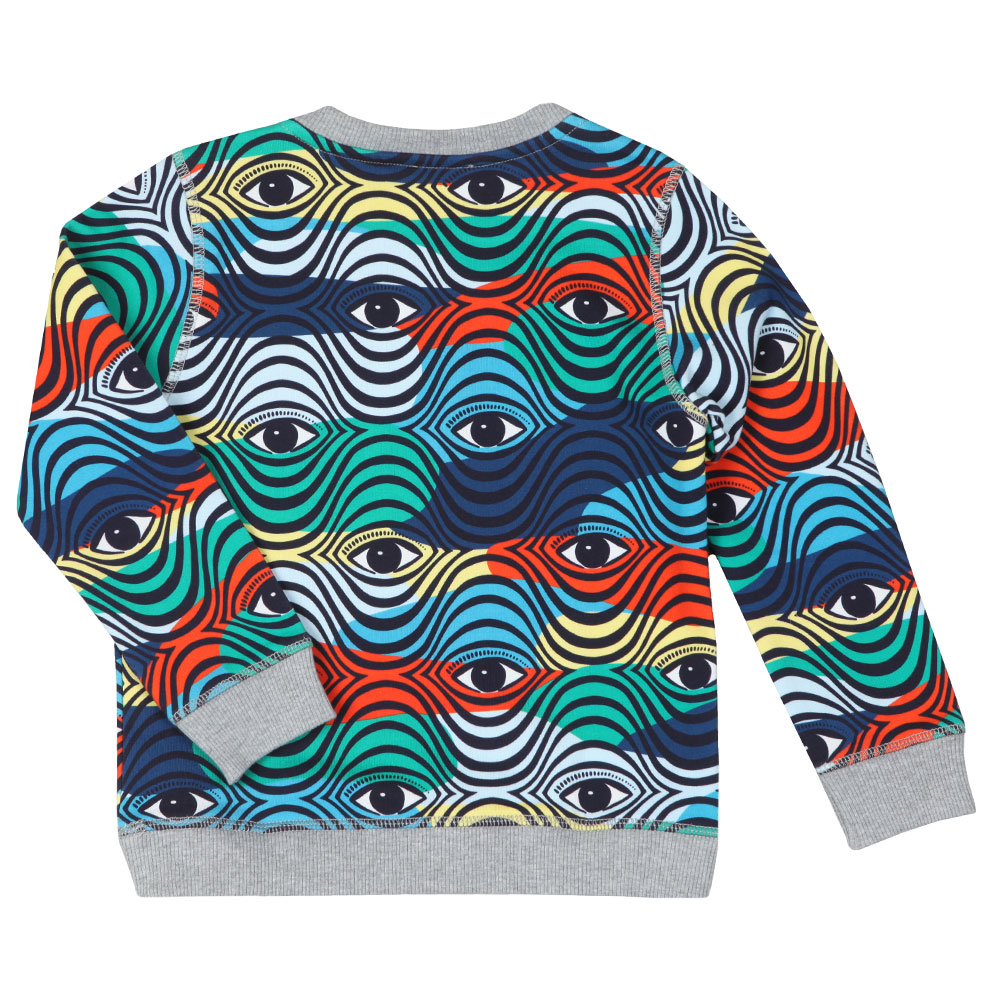 Logo Multi Pattern Sweatshirt main image