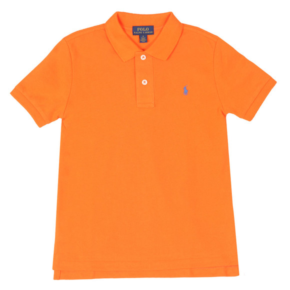 Polo Ralph Lauren Boys Orange Pique Polo Shirt