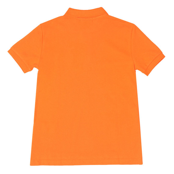 Polo Ralph Lauren Boys Orange Pique Polo Shirt main image