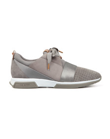 Ted Baker Womens Grey Cepa Runner Trainers