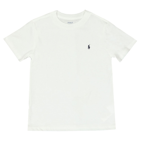 Polo Ralph Lauren Boys White Crew Neck T-Shirt