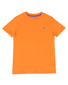 Polo Ralph Lauren Boys Orange Crew Neck Tee