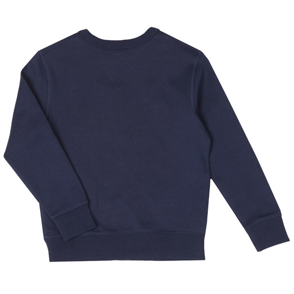 Polo Ralph Lauren Boys Blue Signature Logo Sweatshirt main image