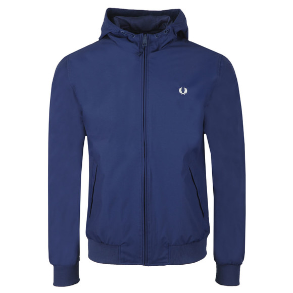 Fred Perry Mens Purple Hooded Brentham Jacket main image