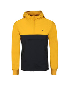 Fred Perry Mens Yellow Half Zip Jacket