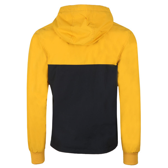Fred Perry Mens Yellow Half Zip Jacket main image