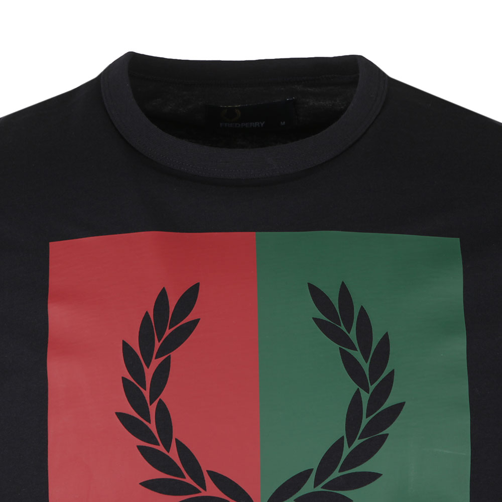 Split Laurel Wreath Tee main image