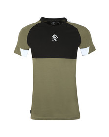 Gym King Mens Green Lombardi Tee