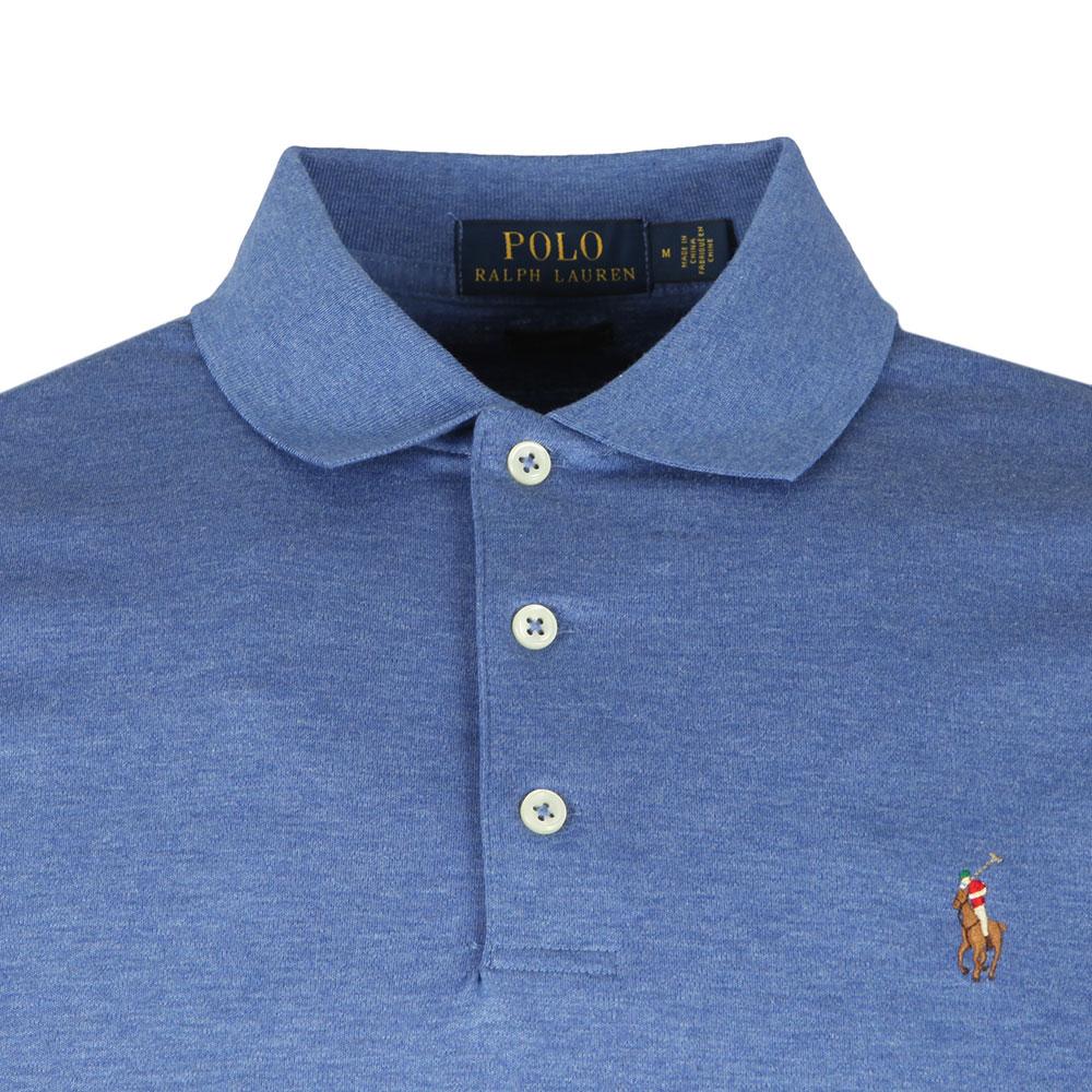 Polo Pima Mens Blue Fit Slim Shirt 1cuTKlFJ3