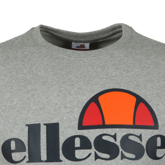 Ellesse Mens Grey Succiso Crew Sweat main image