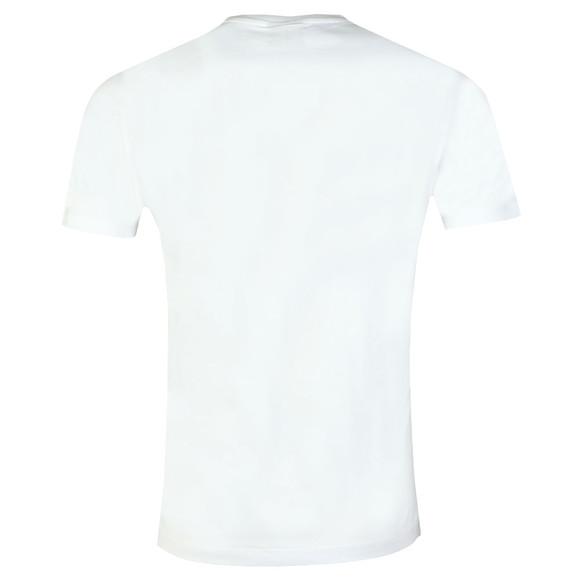 Emporio Armani Mens White Chevron Eagle T Shirt main image