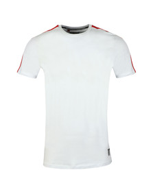 Eleven Degrees Mens White Southpaw Tee