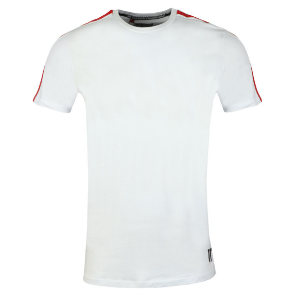 Eleven Degrees Mens White Southpaw Tee main image