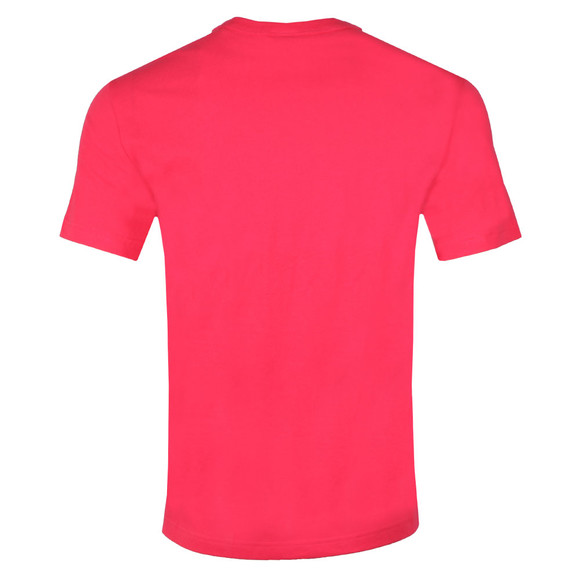 Champion Reverse Weave Mens Pink Small Script Logo T Shirt main image