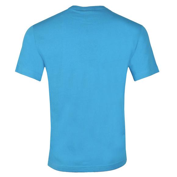 Champion Reverse Weave Mens Blue Small Script Logo T Shirt main image