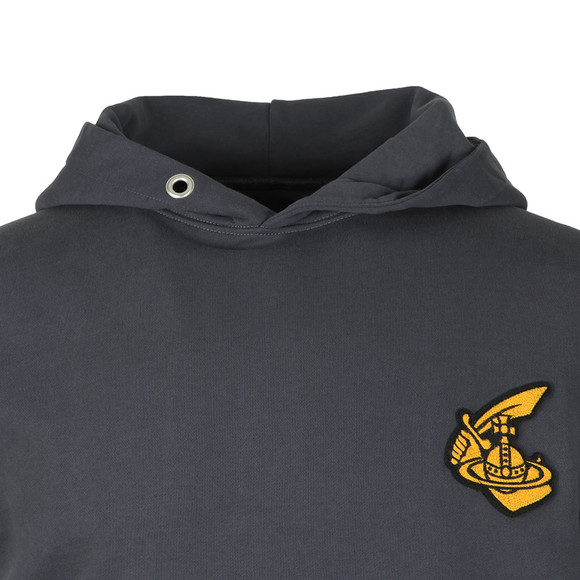 Vivienne Westwood Anglomania Mens Grey Hooded Pullover  main image