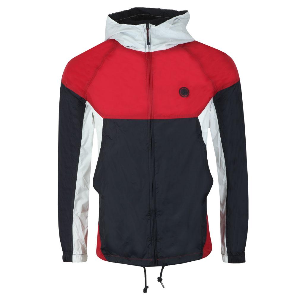 Zipthrough Hooded Contrast Jacket main image