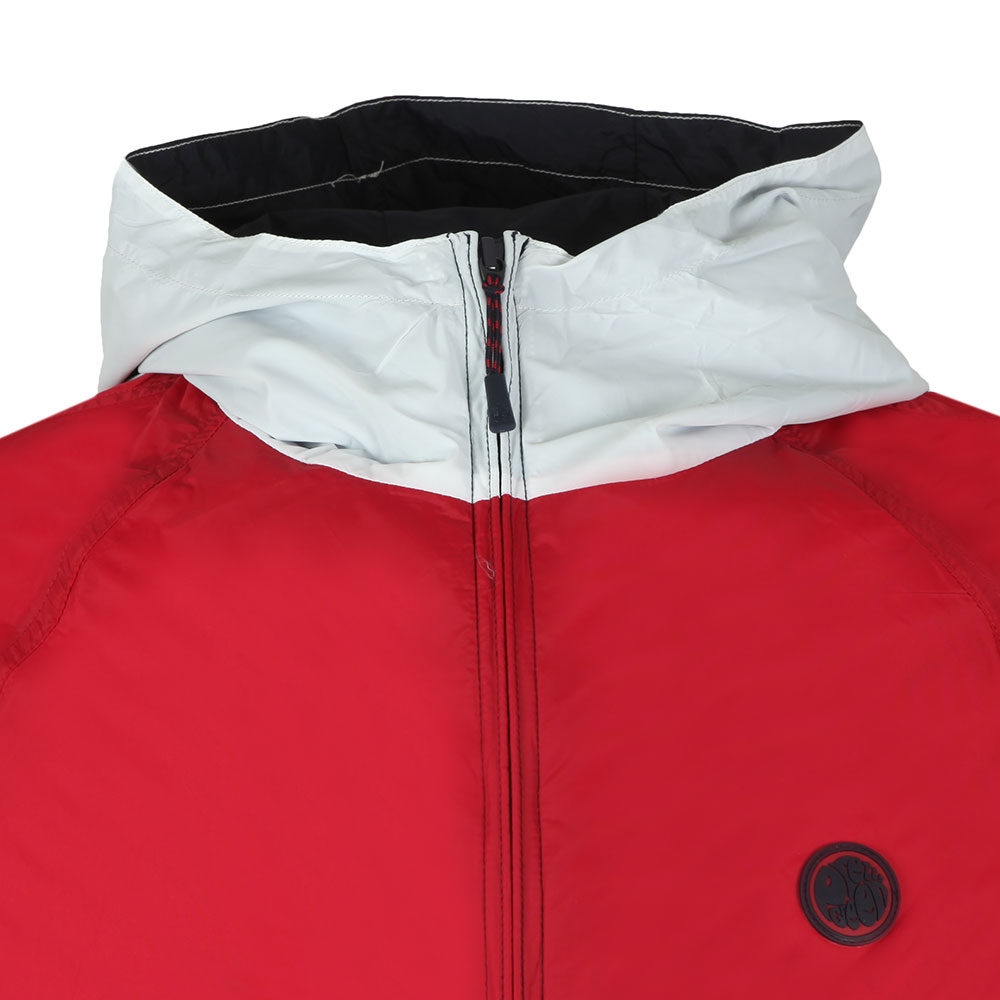 Zipthrough Hooded Contrast Jacket main image