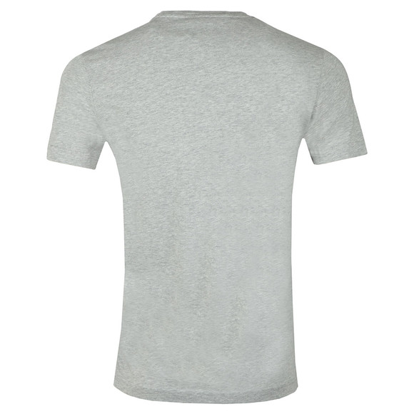 Tommy Hilfiger Mens Grey Stripe Hilfiger Tee main image
