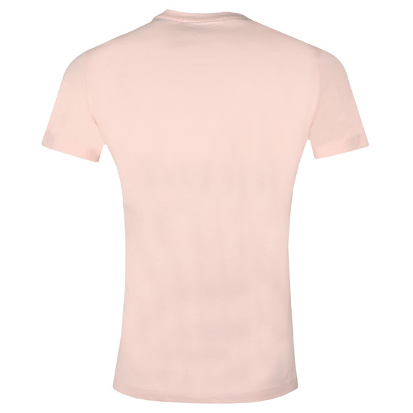 Calvin Klein Jeans Mens Pink Chest Institutional Tee main image