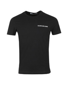 Calvin Klein Jeans Mens Black Chest Institutional Tee