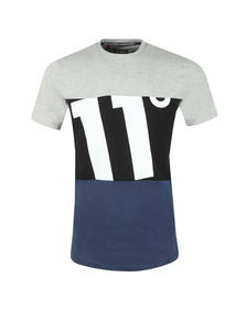 Eleven Degrees Mens Blue Bimex Tee